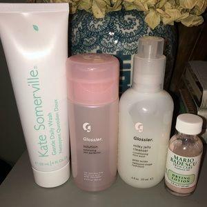 Skincare Bundle— Kate Somerville, Glossier